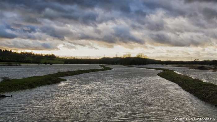 River Brede in Flood water River Brede Photography Landscape Flood East Sussex Brede