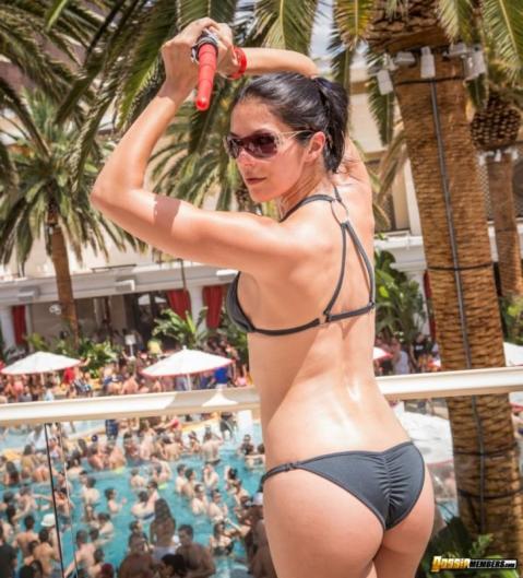 Adrienne Curry Nude Sexy Scene Reality Star Bombshell Bikini