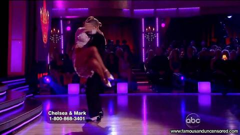 Chelsea Kane Nude Sexy Scene Dancing With The Stars Upskirt