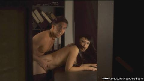 Elizabeth Brissenden Nude Sexy Scene Stockings Table Hat Hd