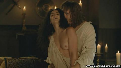 Kellie Blaise Nude Sexy Scene The Borgias Bed Posing Hot Hd