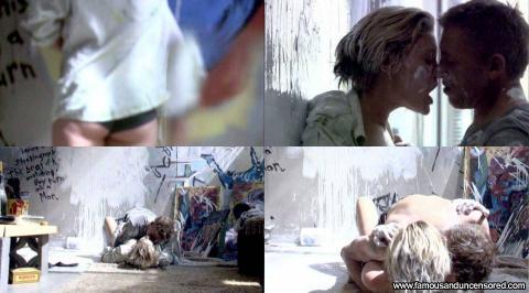 Katee Sackhoff Nude Sexy Scene Battlestar Galactica Pain Bed