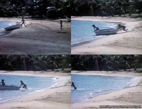 Leslie Graves Nude Sexy Scene Ocean Boat Beach Posing Hot Hd