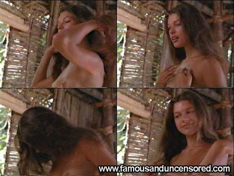 Milla Jovovich Nude Sexy Scene Return To The Blue Lagoon Hd