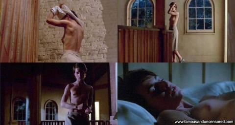 Nastassja Kinski Nude Sexy Scene Cat People Stairs Skirt Bed