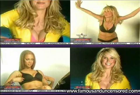 Heidi Klum Nude Sexy Scene Access Hollywood Interview Hat Hd