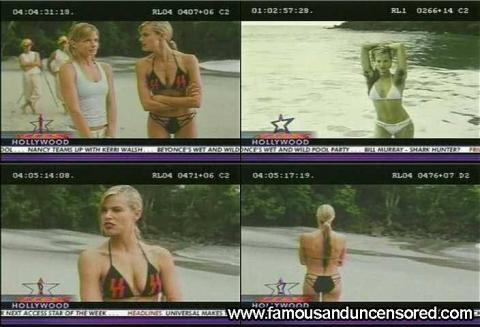 Brooke Burns Nude Sexy Scene Access Hollywood Model Movie Hd