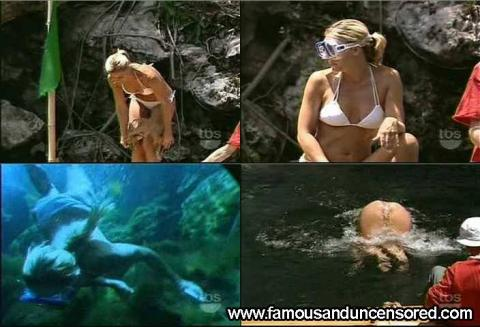 Nicole Eggert Nude Sexy Scene Jumping Bikini Famous Female
