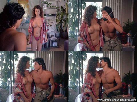 Maxine Wasa Nude Sexy Scene Savage Beach Desk Beach Topless
