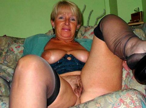 milf hairy bush