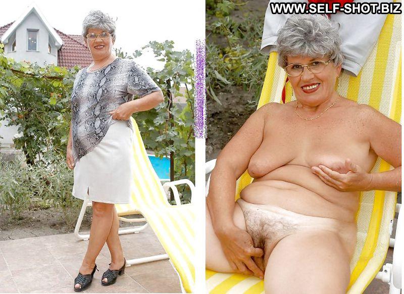 over 60 dressed undressed women