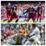 Atletico Out As Barcelona, Real Keep Up Liga Title Race