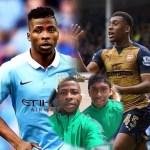 Iheanacho Eager To Face Iwobi As Man City, Arsenal Clash