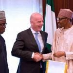 Infantino: I See Bright Future For Nigerian Football