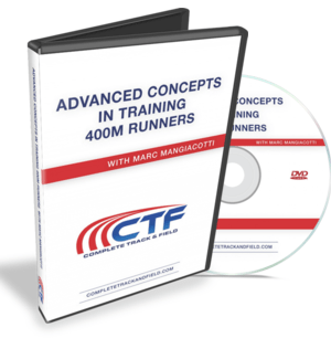 Advanced Concepts in Training 400m Runners w:Marc Mangiacotti (DVD)