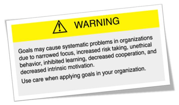 goals warning