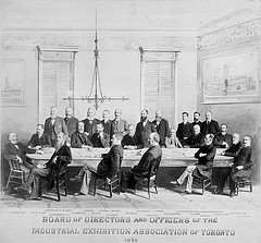 Board of Directors and Officers of the Industrial Exhibition Association of Toronto 1930