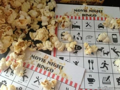 At Home Family Movie Night Ideas_ Bingo Card Printables_ PopSecret