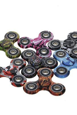 HuntGold-Spinner-Mano-Juguete-de-camuflajeestrs-reductor-EDC-hand-Spinner-toy-perfecto-para-ansiedad-nios-adultos-0-0