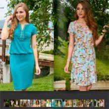 Ellas Modas, catálogo Encanto das Flores