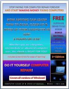 Computer clean up and speed up manual ilmit computer repair ebooks computer clean up speed up manual fandeluxe Ebook collections