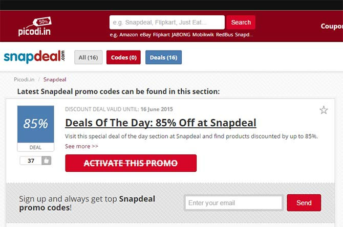 snapdeal-discount