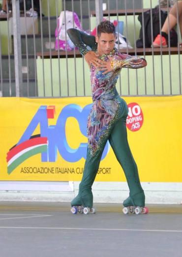 Michele Sica medaglia d'oro ai campionati del mondo di pattinaggio