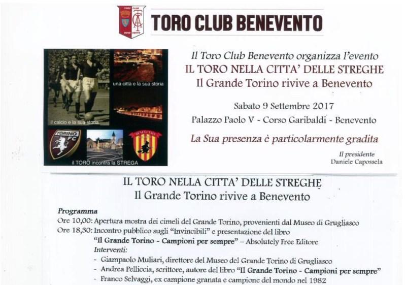 """Mostra su """"Il grande Torino"""""""