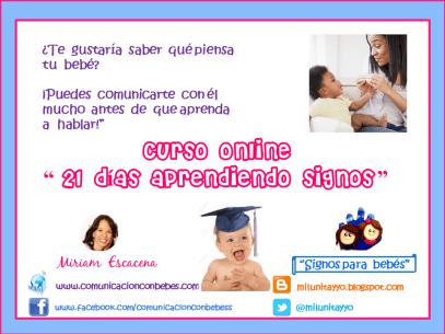 Curso online signos para bebés