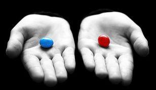 Matrix pastilla roja o azúl
