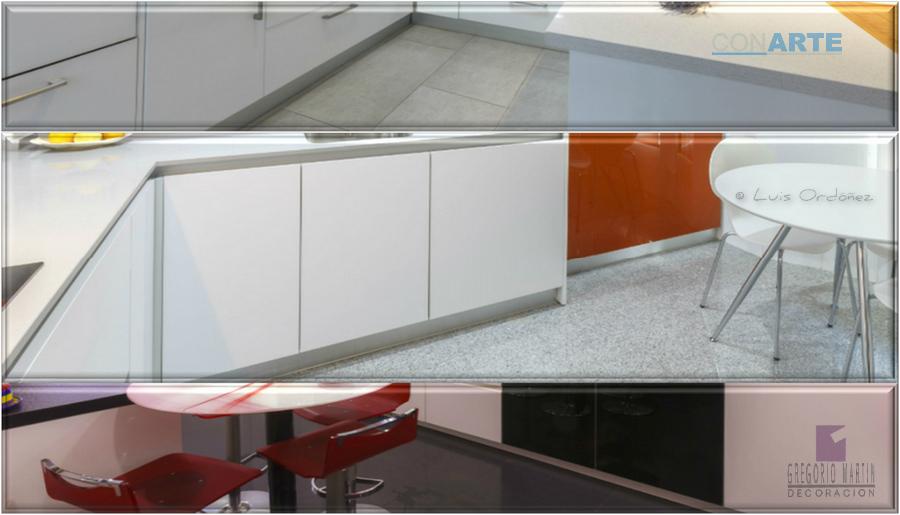 Son convenientes los z calos de aluminio en la cocina for Zocalos para cocinas