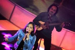 Alí Alejandro Primera junto a Ana Cecilia Loyo en la Gala Audiovisual de CONATEL 2016. (Foto: Jesús Fernández)