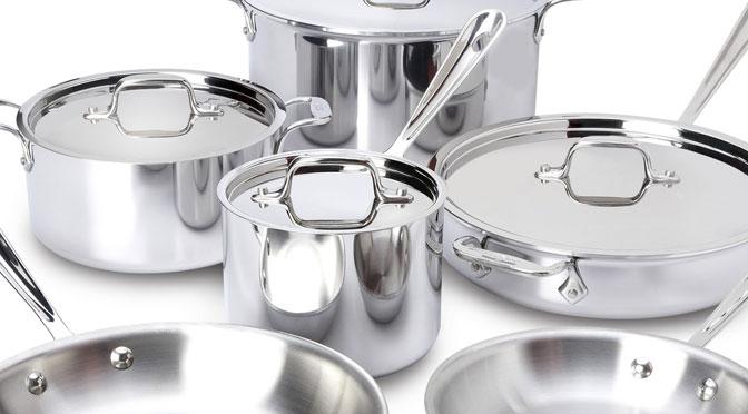 Concours ricardo gagnez une batterie de cuisine 10 - Batterie de cuisine en acier inoxydable ...