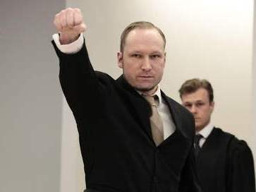 Anders Breivik. Photo: Day Donaldson