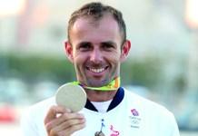Olympics windsurfer Nick Dempsey, Photo: @MustardTV