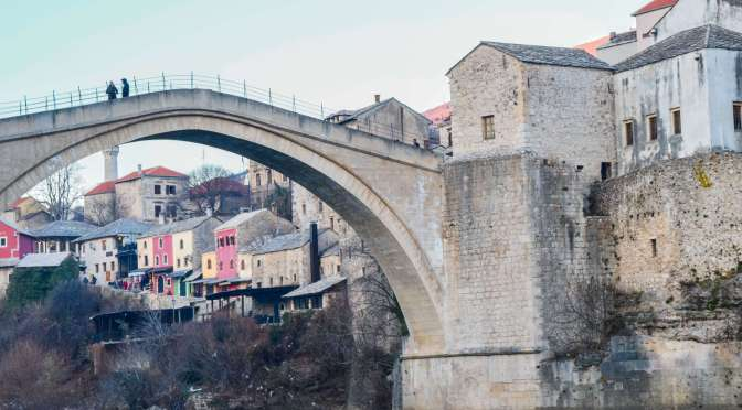 Anatomy of a Perfect Travel Day: New Years in Mostar, Herzegovina