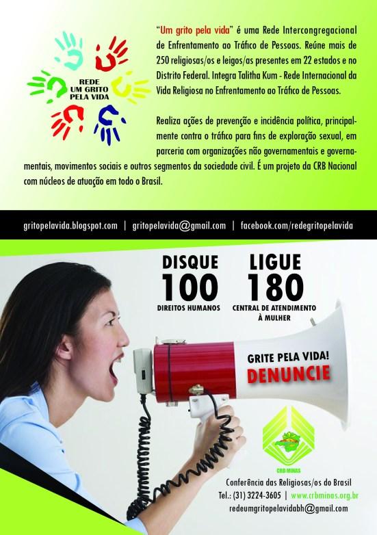 Folheto CRB Rede3