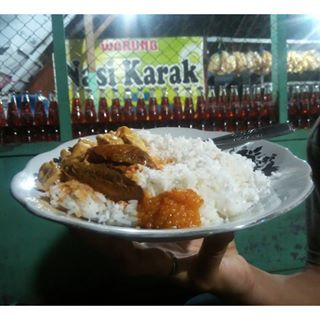 Nasi Karak. Sumber :