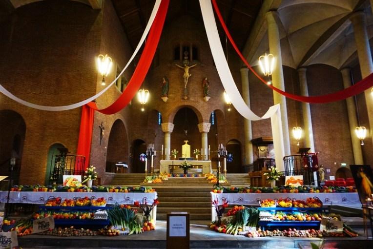 Sayur mayur yang ada dalam Gereja