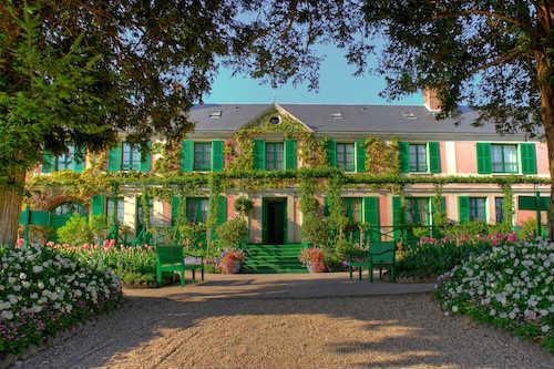 Onde morou Claude Monet