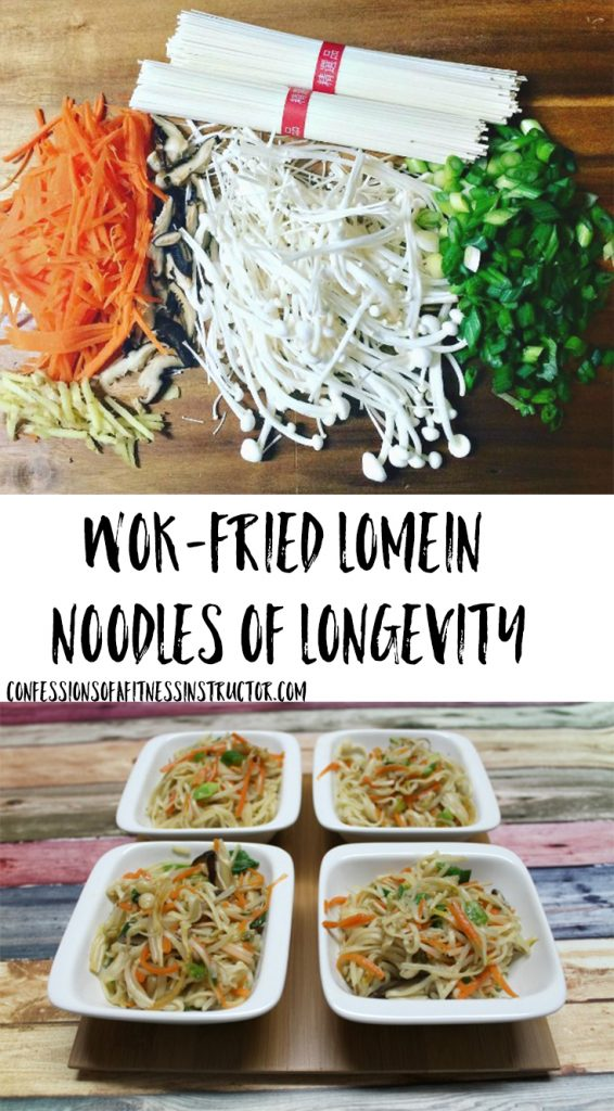 Celebrate the Chinese New Year hoilday with LoMein Noodles of Longevity