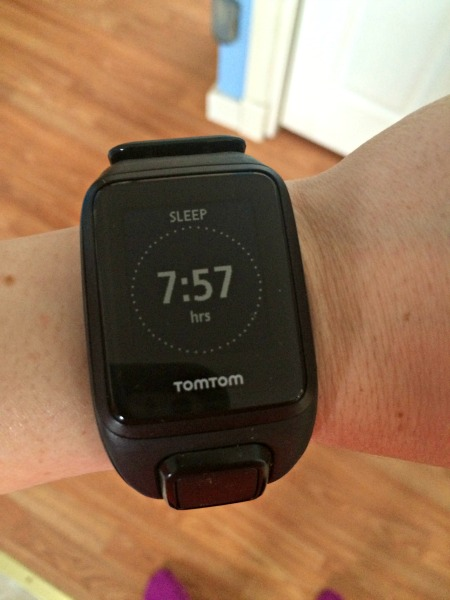 The TomTom Spark Cardio + Music GPS Fitness Watch combines a fitness tracker, a heart rate monitor, GPS watch, and iPod all in one - with Bluetooth headphones! It is a dream for any active person whether in the gym or out on a run!