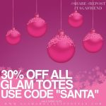 Super Holiday Sale With Glam-Aholic Lifestyle!