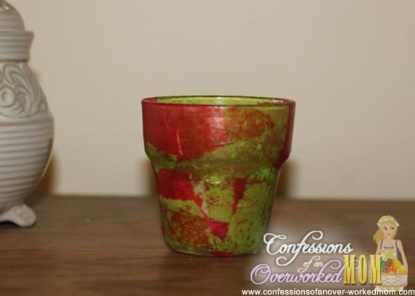 Christmas project ideas using decoupage