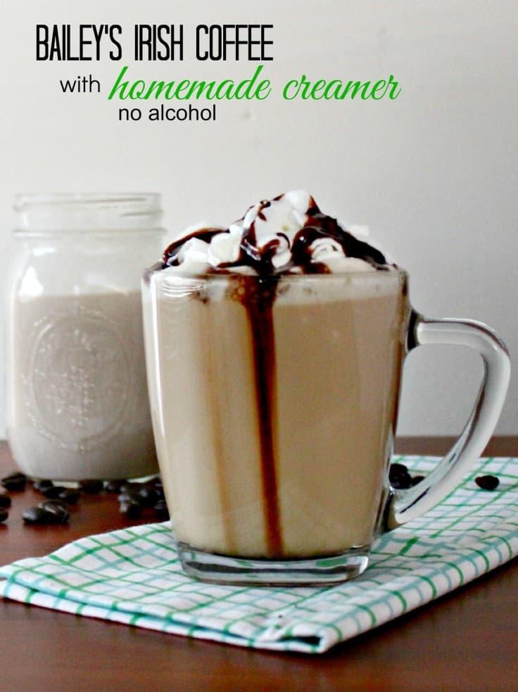 Bailey's Irish Cream Non Alcoholic Irish Coffee Creamer