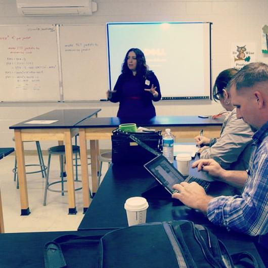 speaking about teacher resumes, teacher careers, and teacher leadership