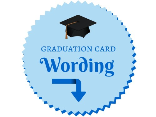 Medium Of What To Write In A Graduation Card