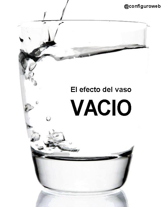 vaso vacio
