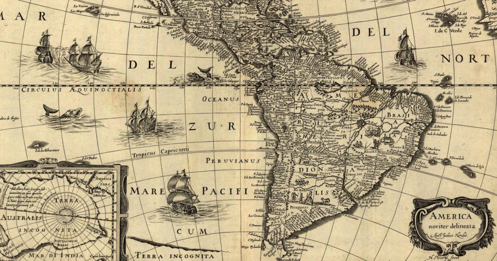 Coimbra and the South America