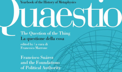 Quaestio 18 Yearbook Metaphysics Suarez